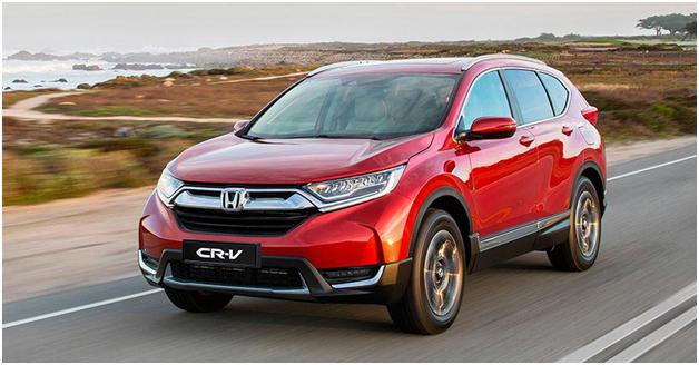 Неповторимый и привлекательный внешний вид нового кроссовера Honda CR-V