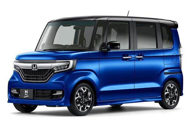 Популярный в Японии кей-кар Honda N-Box II поколения